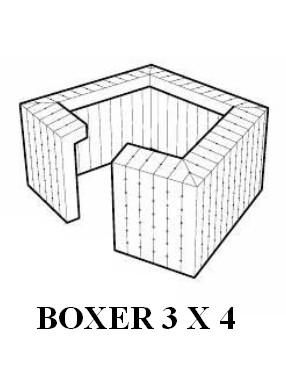 location de structure gonflable tente boxer sur. Black Bedroom Furniture Sets. Home Design Ideas