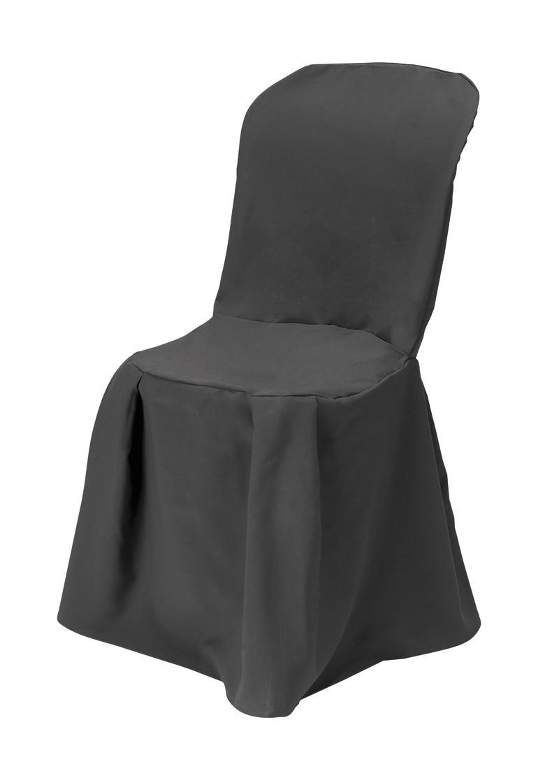 Location de housse de chaise sur location for Chaise salon grise