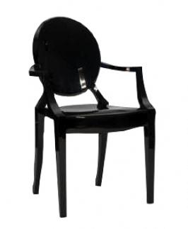 location de chaise louis ghost noire black kartell sur lille paris belgique location de. Black Bedroom Furniture Sets. Home Design Ideas