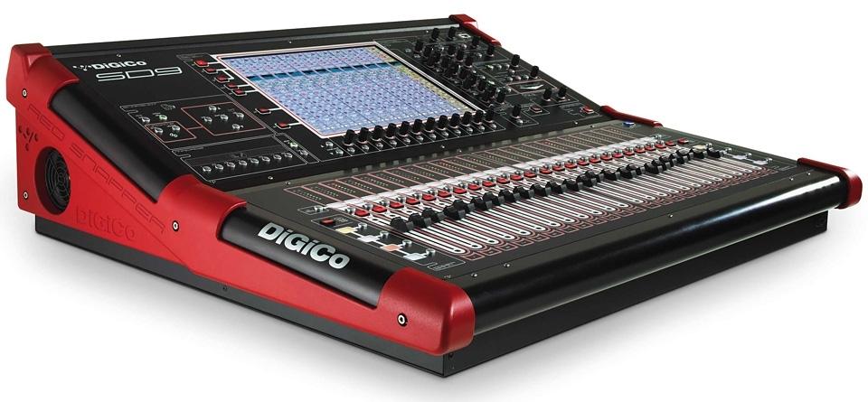 Location de mat riel de sonorisation console num rique digico sd9 sur location - Console de mixage numerique ...