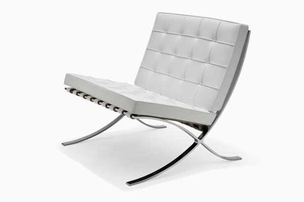 Location de fauteuil barcelona cuir blanc sofa barcelona white sur ekipemen - Fauteuil barcelona occasion ...