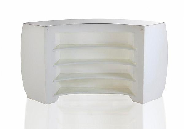 location de mobilier lumineux bar fiesta courbe vondom sur location de mobilier. Black Bedroom Furniture Sets. Home Design Ideas