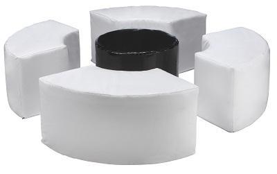 location de mobilier pouf 90 blanc sur location de mobilier et mat riels pour. Black Bedroom Furniture Sets. Home Design Ideas
