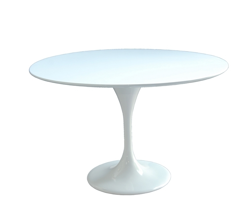 Location de mobilier v nementiel table basse tulipe for Table basse tulipe