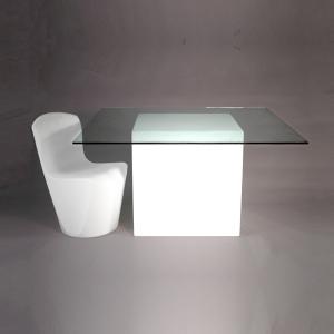 Location de mobilier v nementiel table square slide sur location de mobilier - Carre blanc lille ...