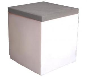 Location de mobilier soft cube blanc sur location de mobilier et mat riels - Carre blanc lille ...